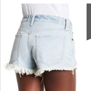 Free People Shorts - Free people Daisy Chain Lace Short